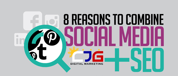 8 Reasons to Combine Social Media and SEO (Infographic)